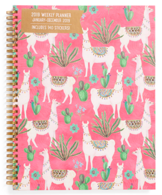 Monthly Planner Lamas
